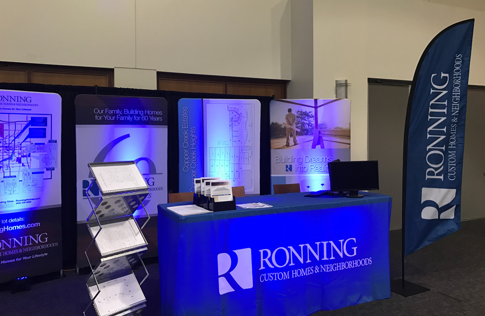 Ronning Trade Show Booth design