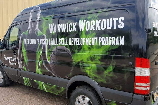 Van vehicle wrap