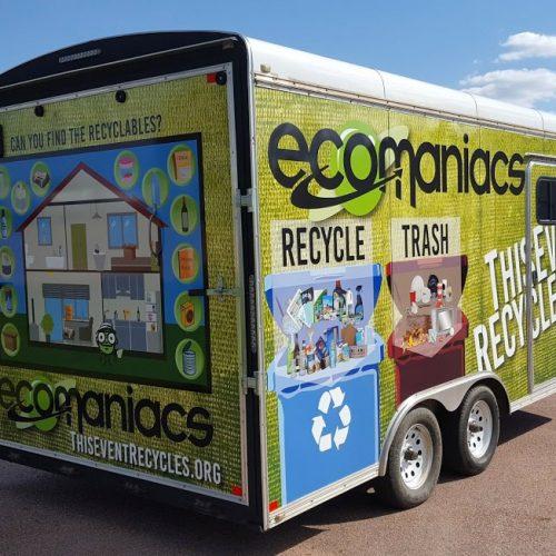 Ecomaniacs Vehicl/Trailer wrap