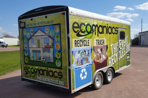 Ecomaniacs Vehicle/Trailer wrap