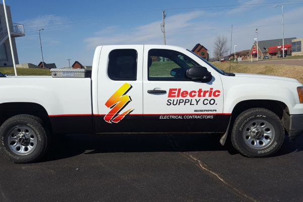 Electric Supply Company vehicle wrap