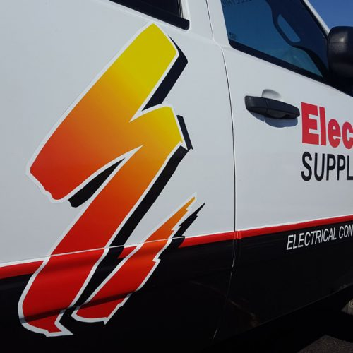 Electric Supply Company vehicle graphic