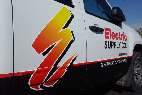 Electric Supply Company truck wrap