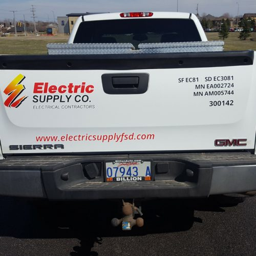 Electric Supply Company vehicle design