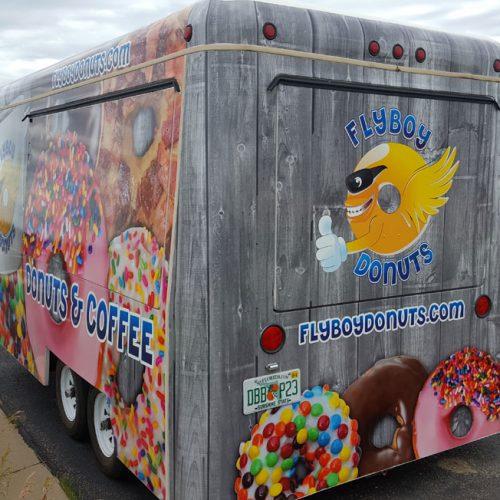 flyboy trailer vehicle wrap