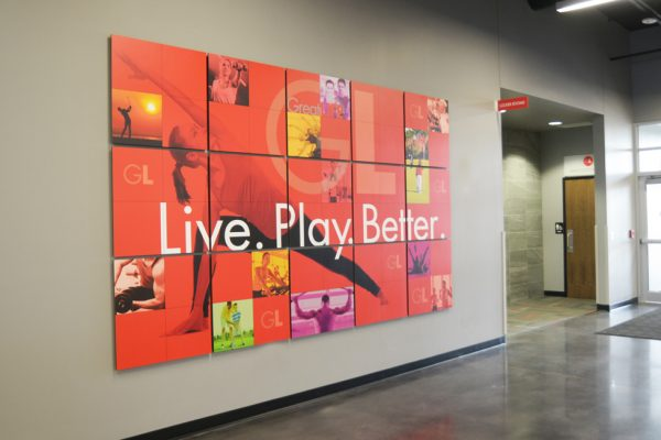 GreatLIFE wall graphics