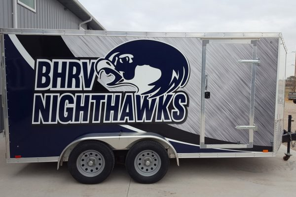 Rock Valley High School Trailer wrap