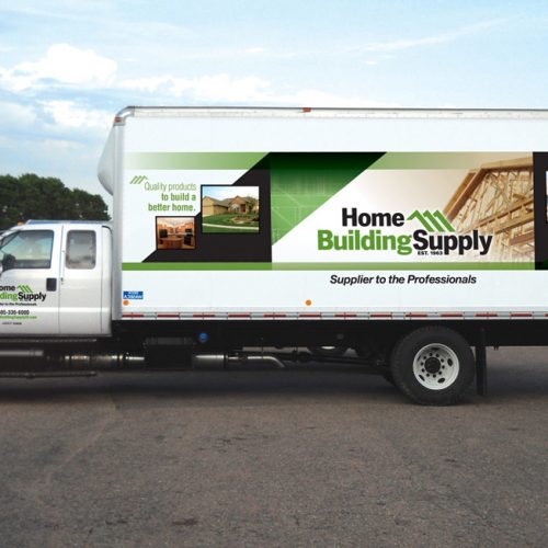 Home Building Supply vehicle design
