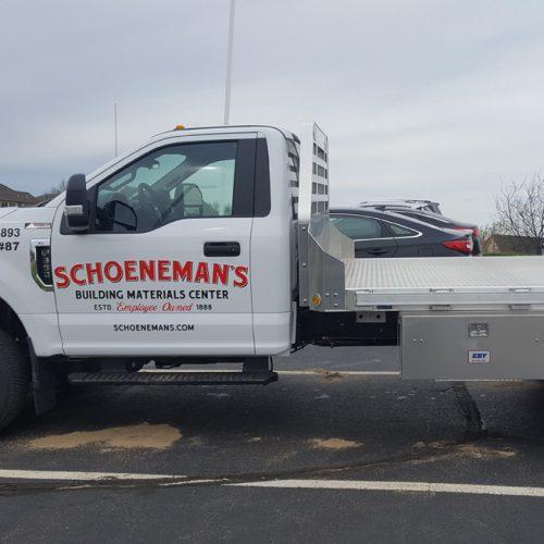 Schoeneman's truck wrap