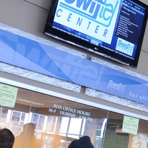 Swiftel Center custom display