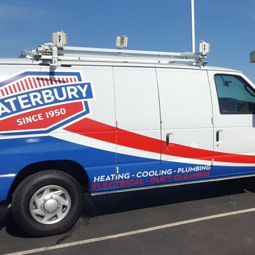 Waterbury vehicle wrap