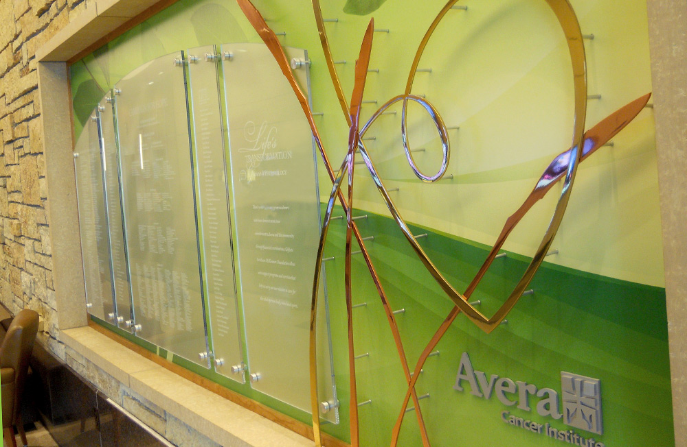 Donor Displays & Recognition Walls | HS Sign Shop in Sioux Falls