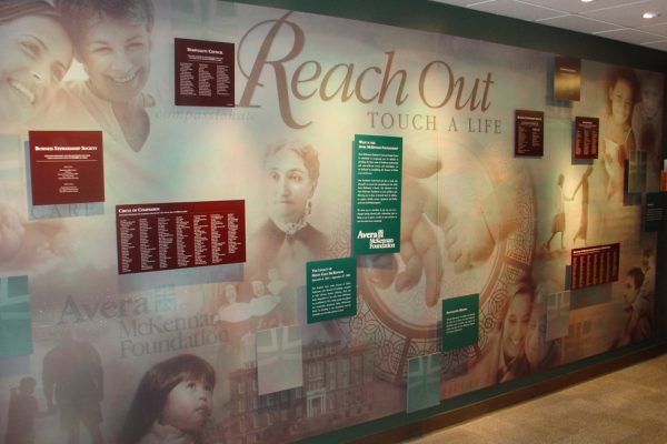 Avera McKennan Foundation Donor Wall