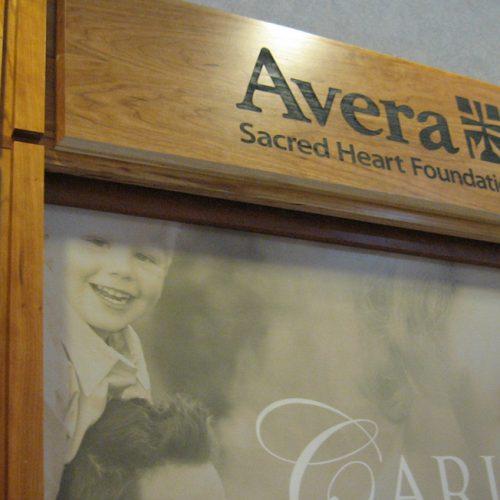 Avera Sacred Heart Donor Wall