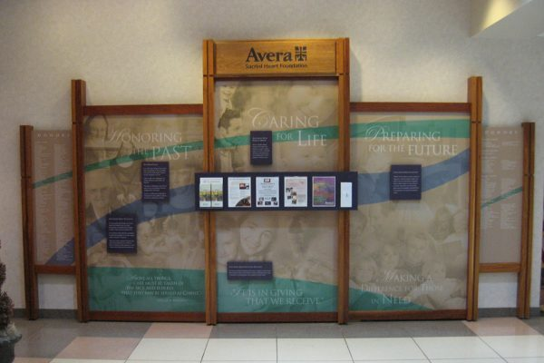 Avera Sacred Heart Donor Wall