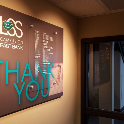 LSS donor display