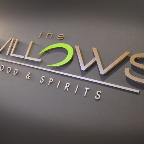 The Willows wall design