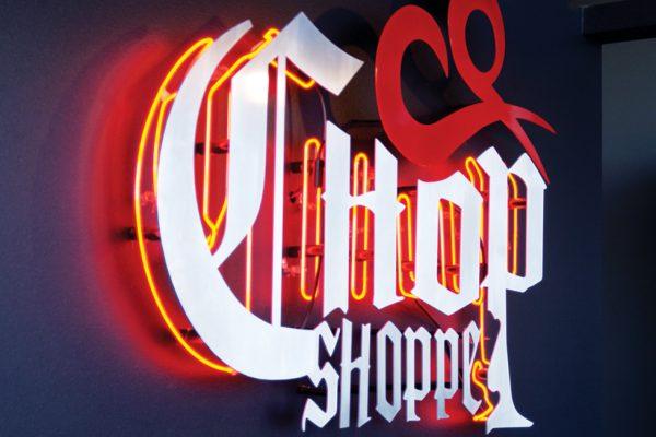 Chop Shoppe signage