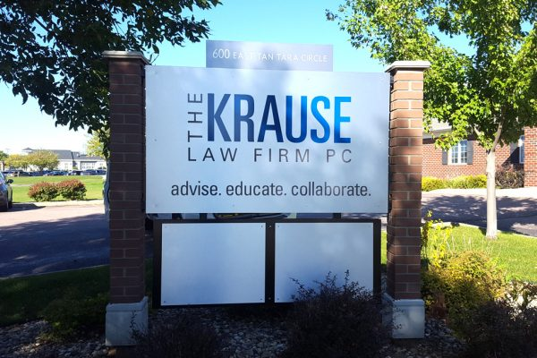 Krause Law Firm Outdoor Sign