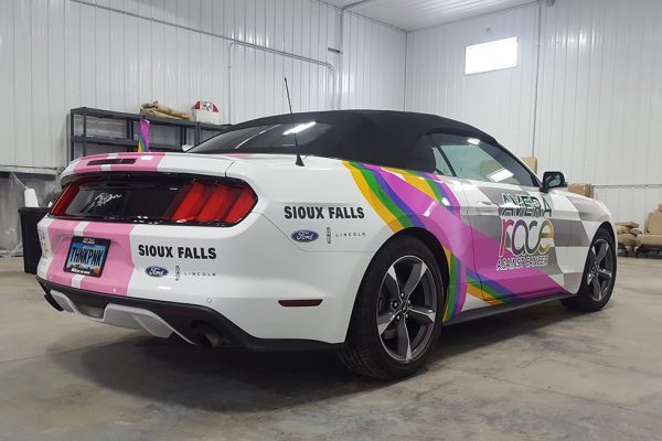 Avera Race Against Cancer Ford Mustang