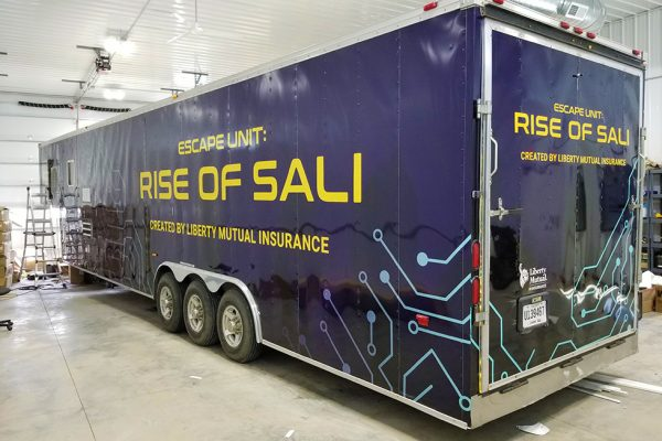 Rise of Sali - Trailer Vehicle Wrap