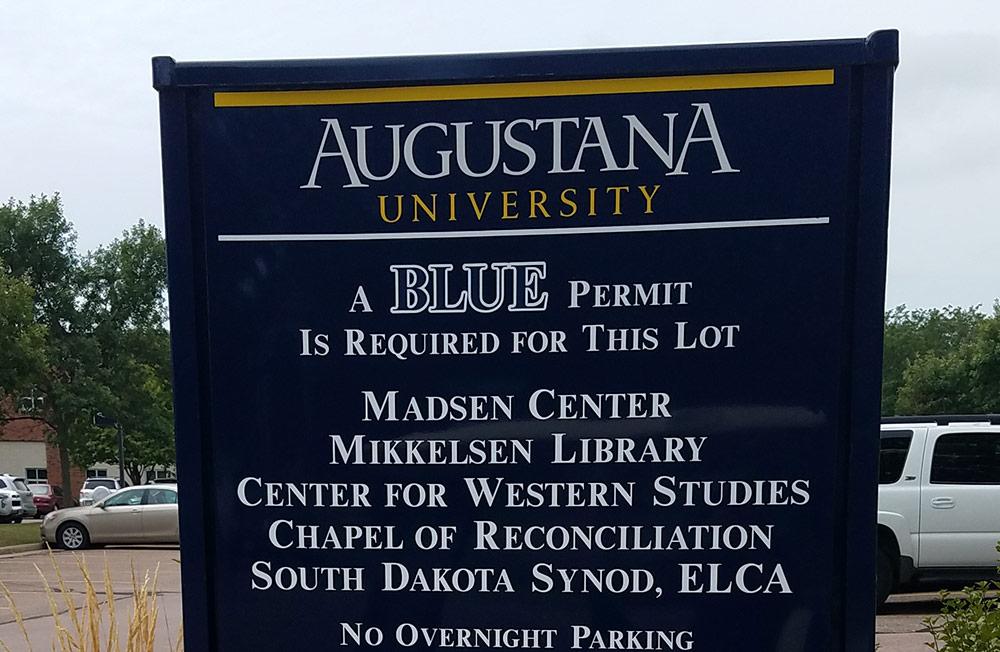 Augustana Campus Sign