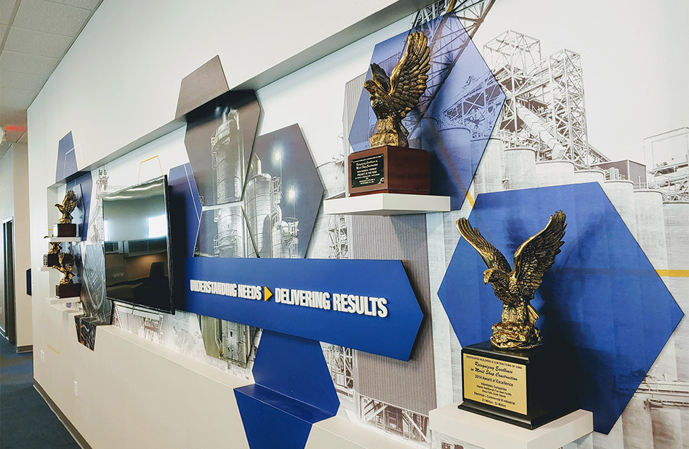 Interstates Awards Wall Display