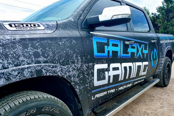 Galaxy Gaming Truck Vehicle Wrap