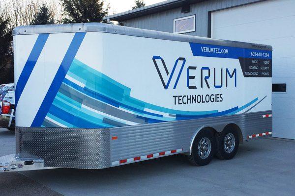 verum trailer wrap
