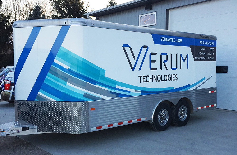Vehicle Wraps: Car, Truck & Van Graphics | HS Sign Shop in Sioux Falls
