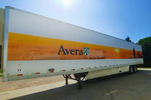 Avera Pharmacy Trailer Wrap