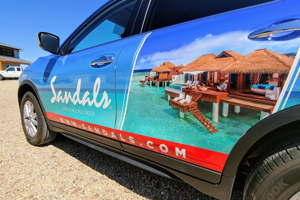 Sandals SUV - Driver's Side
