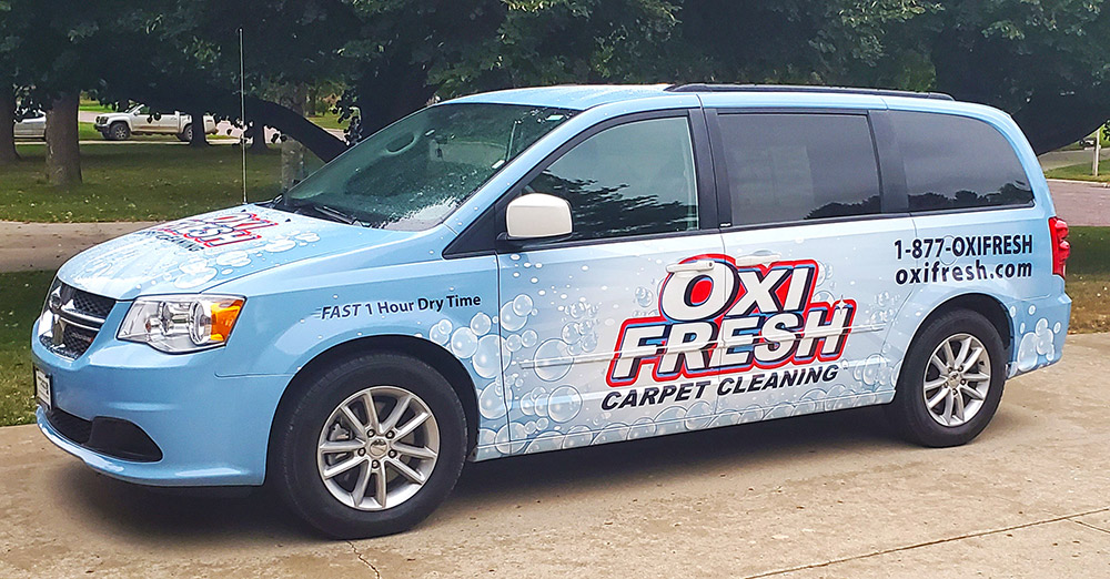 Oxi Fresh van wrap