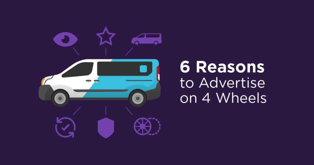 Vehicle Graphics: 6 Reasons to Advertise on 4 Wheels