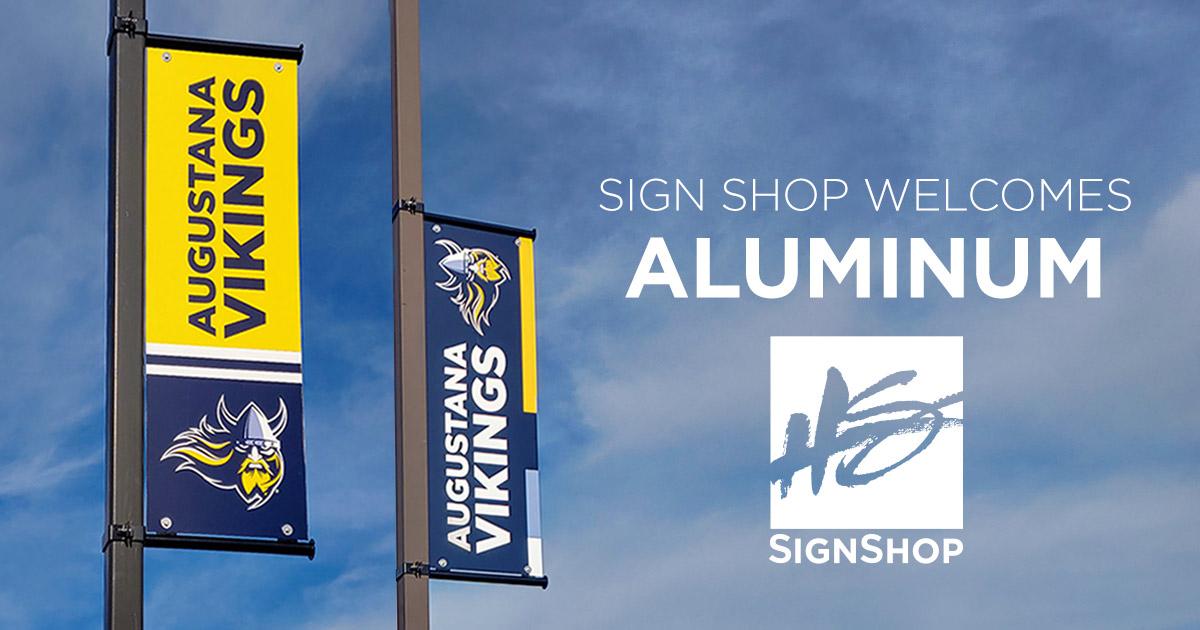 Aluminum Banners